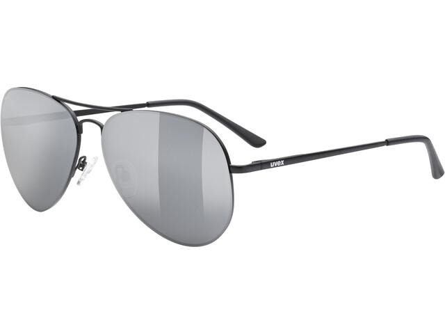 UVEX LGL 45 Glasses black matt/mirror silver